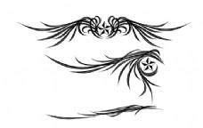 羽翼星辰装饰