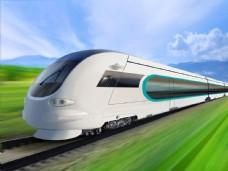 高速铁路火车图片