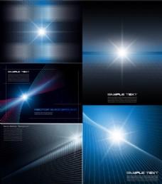 发光抽象动态背景集