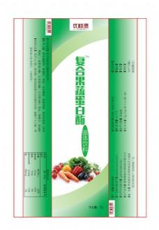 复合果蔬蛋白酶固体饮料