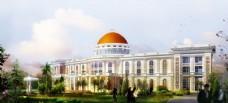 酒店建筑设计图片