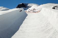 滑雪场摄影图片