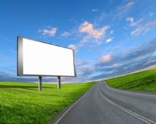 公路户外广告图片