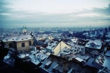 美丽的城市俯瞰图