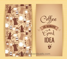 咖啡概念设计。