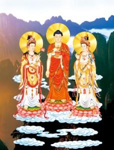 菩萨佛像壁画图片