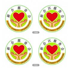 新会慈善会会徽标logo标志