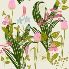 时尚植物背景墙