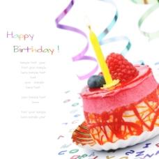 新鲜水果生日蛋糕图片