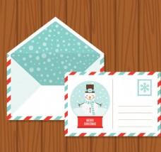 明信片和信封