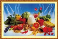 水果蔬菜经典壁画图片