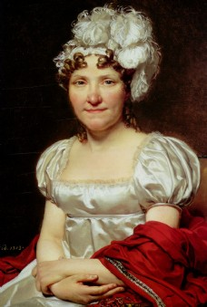 法国贵族女性油画图片