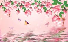 花卉元素背景装饰