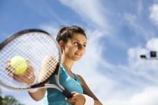 性感网球运动员美女图片