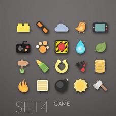 20款游戏图标矢量素材