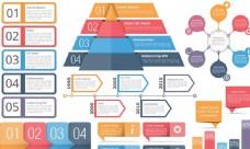 彩色主題創意PPT信息圖表設計