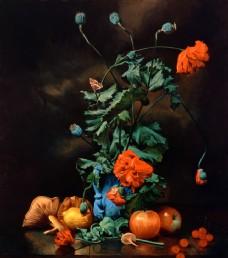 花卉静物油画 水果油画 装饰画