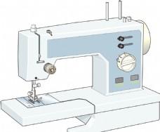 手绘缝纫机