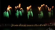橘洲焰火摄影图