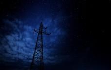高压电塔 电塔 高压电 高压线