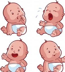 卡通 可爱 婴儿 气球 宝宝